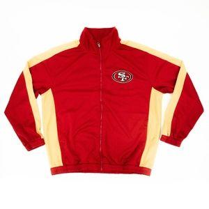 NFL Track Jacket San Francisco 49ers Logo Active
